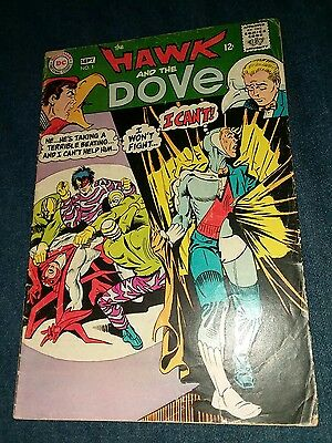 Hawk And The Dove #1 early appearance VG 4 Steve Ditko Art First Issue 1st print