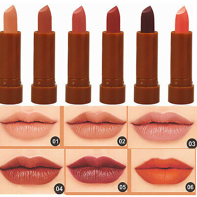 6Pcs Makeup Set Long Lasting Lipstick Waterproof Matte Velvet Lip Gloss Cosmetic