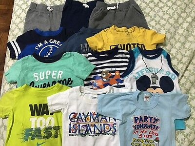 Lot Of Baby Boy Clothes Size 24 Months/2T