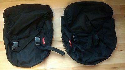 Pair Of Phil & Teds Blazing Saddles Pannier Bags Black Imaculate & Boxed