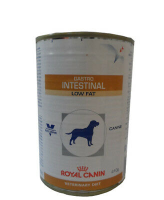 12x410g Royal Canin Gastro Intestinal Low Fat Veterinary Diet Nassfutter Dose