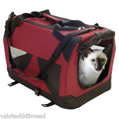 Pet Brands CC001 Petzden Fold Flat Cat Carrier 9.5cm H x 9.5cm W x 31cm D
