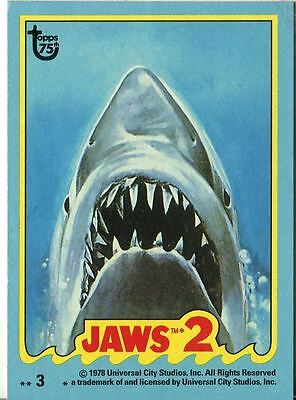 Topps 75th Anniversary Base Card 70 Jaws 2