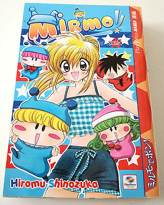 Mirmo N. 5 Manga Play Press Hiromu Shinozuka Buono Sped Gratis Su + Acquisti!!!