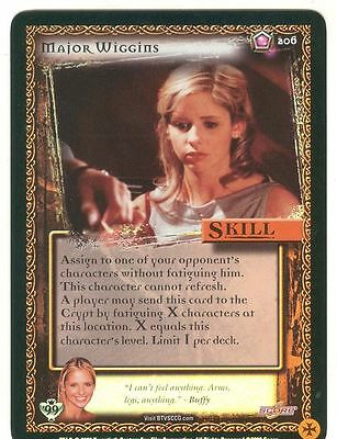 Buffy TVS CCG Limited Class Of 99 Premium Foil Card #172 Class Protector
