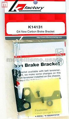 K Factory K14131 Piastra Freno G4 New Carbon Brake Bracket modellismo