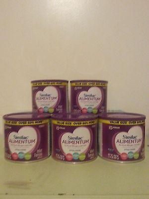 5 (1.24lb) cans Similac Alimentum Formula This baby formula is not expired-