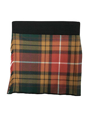 Buchanan Antique Velcro Adjustable Baby Tartan Kilt Age 0-24 Months
