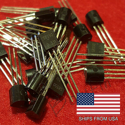(25 Pack) S8550 PNP Transistor TO-92 8550 - Quick free shipping from USA!