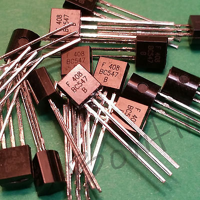 (10 Pack) BC547B NPN Transistor BC547 TO-92 - USA Seller!!!
