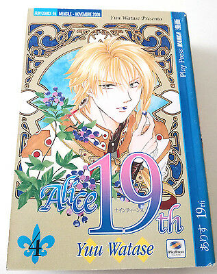 Alice 19Th N.4 Manga Yuu Watase Play Press Buono Sped Gratis Su + Acquisti!!!