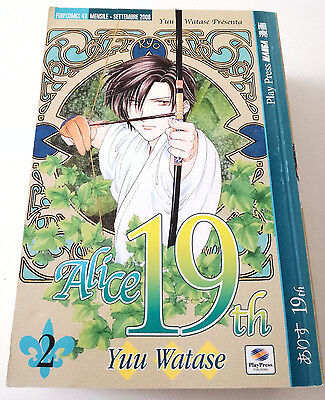 Alice 19Th N.2 Manga Yuu Watase Play Press Buono Sped Gratis Su + Acquisti!!!