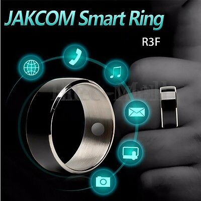 JAKCOM R3F Technology Black Magic Smart Ring For Android WP Mobile Phone NFC