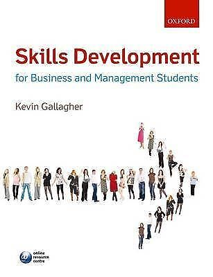 Skills Development for Business and Management Students, Good Condition Book, Ga