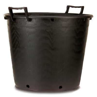 Heavy Duty Extra Large Plastic Plant Container Tree Pot with Handles 80 Litre