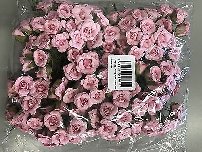 Large Paper Tea Rose PINK - Dia 20mm - Pack of 144