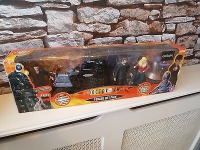 Bbc Doctor Who 6 Six Figure Action Gift Set - New/boxed. Toys