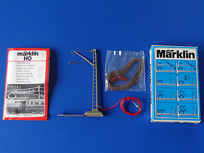 MARKLIN H0 - 7010 - Catenary Power Feeder Mast / BOX - LN