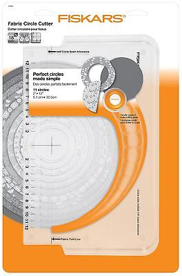 Fiskars Circle Fabric Cutter CUTS  2 INCH TO 12 INCH CIRCLES 1023904
