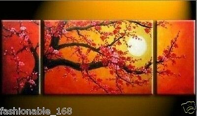 3pc !!Modern Abstract Canvas Art Oil Painting Wall decoration (no framed)