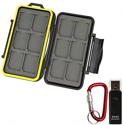 GoFriend Memory Card Carrying Case Holder Professional Waterproof SD card