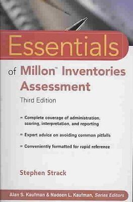 Essentials of Millon Inventories Assessment, Stephen Strack
