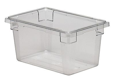 "Cambro 12"" x 18"" x 9"" Polycarbonate Food Box, Clear - CA12189CW135"