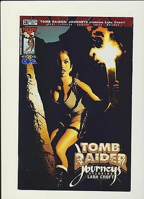 Tomb Raider Journeys #3! Topcow 2002! Adam Hughes! SEE PICS AND SCANS! RARE! WOW