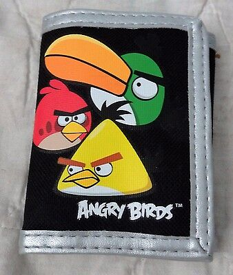Angry Birds Velcro Wallet - Black