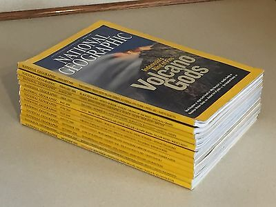 National Geographic Magazine 2008 COMPLETE YEAR 12 Issues Jan-Dec