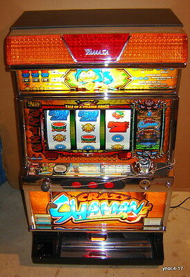 V.Clean Jungle CRAZY SHAMAN Pachislo SLOT MACHINE Led screen casino Vegas action