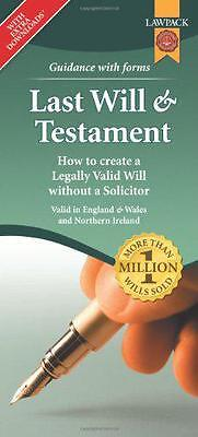 Last Will & Testament Form Pack, Richard, Dew, Eason, Rajah QC | Loose Leaf Book