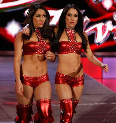 Brie Bella 4x Signed WWE Ring Worn Used Gear