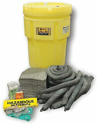 Enpac Oil Only / Petroleum Spill Kit, 95 gal. Wheeled Drum - 1399-YE LS
