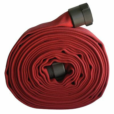 "Armored Textiles Attack Line Fire Hose, Double Jacket, 1-1/2"" Hose Inside Dia.,"