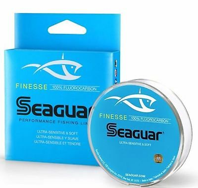 Seaguar Finesse Double Structure Fluorocarbon Line, New, Choice Of Line Size
