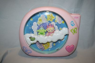 Fisher Price Perfectly Pink Dreamland Crib Soother Projector w/ Batteries WORKS