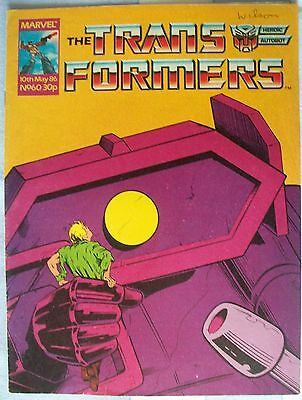 Transformers UK Comic Issue 60 May 1986 Robot Buster Part 2