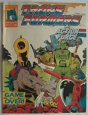 Transformers UK Comic Issue 222
