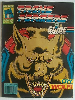Transformers UK Comic Issue 272