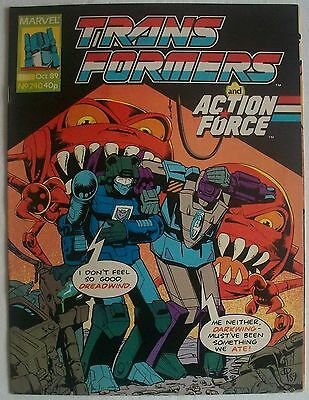 Transformers UK Comic Issue 240