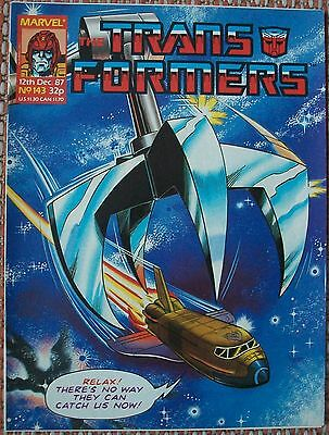 Transformers UK Comic Issue 143 December 87 Spacehikers