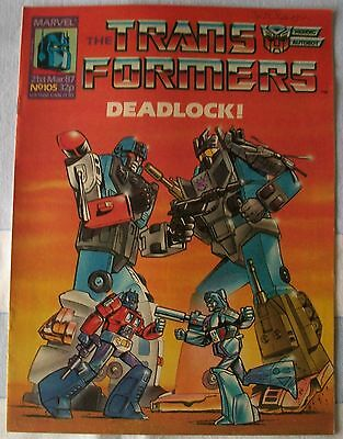 Transformers UK Comic Issue 105 March 1987