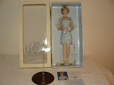 Franklin Mint Princess Diana Of Wales Porcelain Doll Swan Lake Ltd With COA