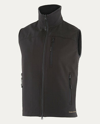 NEW Noble Outfitters Mens All Around Vest Water and Wind Resistant Small Black