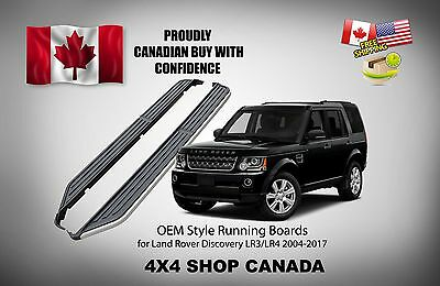 2004-2017 Land Rover Discovery LR3 LR4 Nerf Bar Side Step bar Running Boards