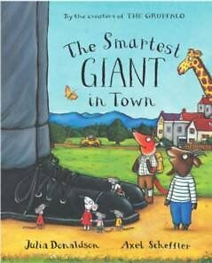 The Smartest Giant in Town Big Book, Julia Donaldson