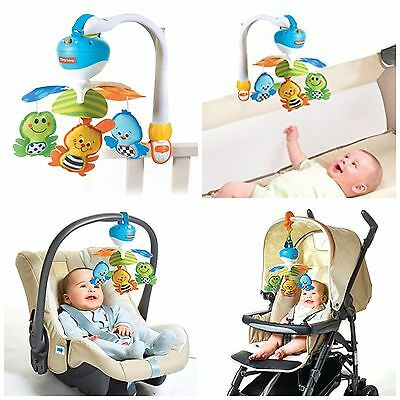 Baby Nursery Musical Crib Bed Baby Music Box Travel Infant Car Seats Stroller