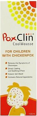 Poxclin Cool Mousse For Children With Chickenpox 100ml *HQ*