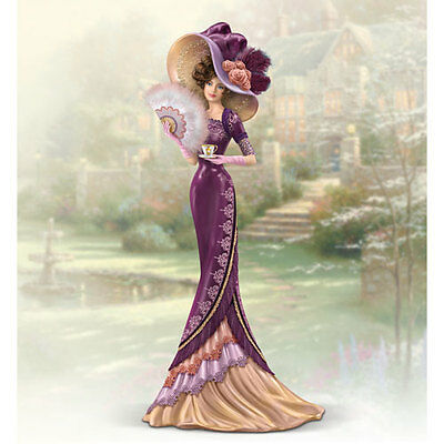 An Elegant Love Figurine Whispers of Victorian Elegance Thomas Kinkade